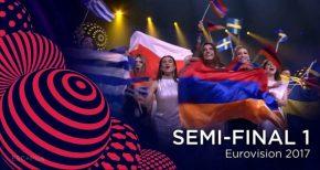Vuelve a ver la 1ª semifinal de eurovisión2017