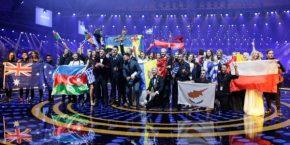 Países clasificados en la primera semifinal de Eurovisión2017