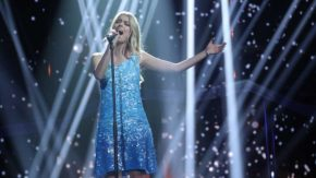 """Te gustaría ver a Nerea en Eurovision??? su actuación de """"Quédate conmigo"""" emocionan a España ante la atenta mirada de PastoraSoler"""