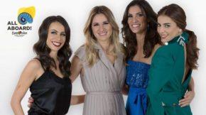 Cuatro mujeres presentarán el Festival de Eurovisión2018