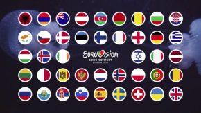 Las canciones y artistas con las que cada país participará en Eurovisión 2018.¡Escúchalas!!!!!